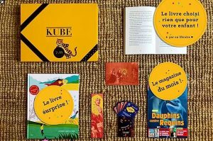 Box livre enfant La Kube