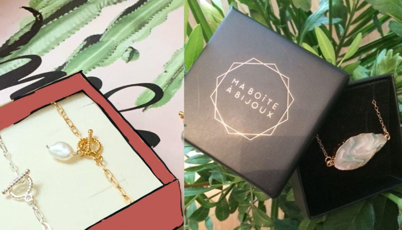 Ma boîte à Bijoux : la box bijoux personnalisée