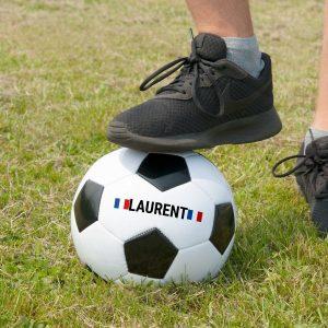 Le ballon de foot personnalisé