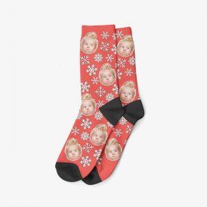 Les chaussettes personnalisées de noël