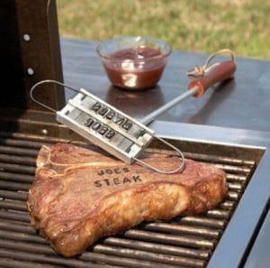 Fer à marquer personnalisé pour barbecue