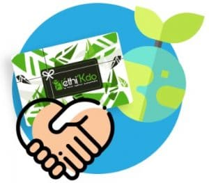 Carte cadeau écologique