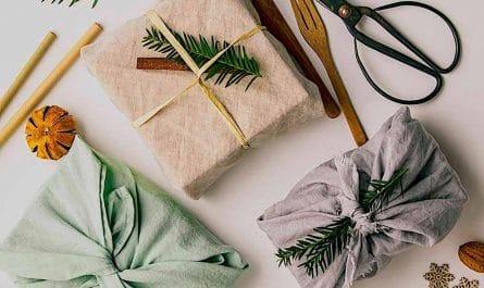 Les emballages cadeaux zéro déchet